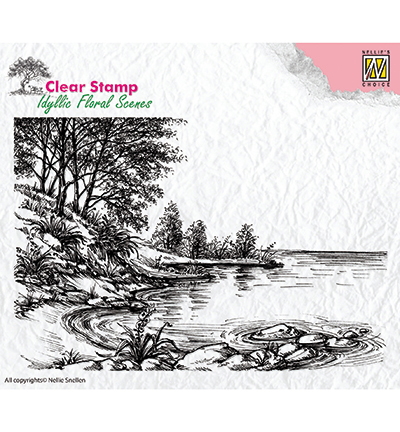 Nellies Choice stempels IFS006 Waters Edge