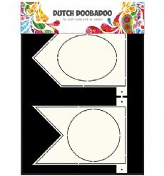 Dutch Doobadoo Card Art 3319 Banner Flags