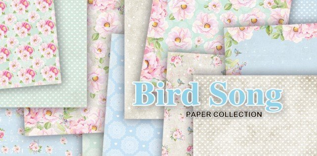 Craft&You Paperpad CPB-BS15 Bird Song