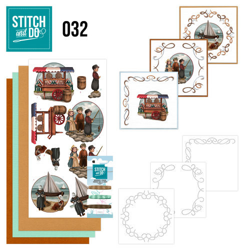 Stitch and Do set STDO032 Oud Hollands