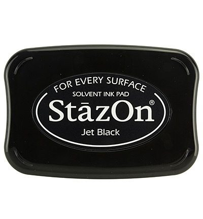 Stazon inkt 031 Jet Black