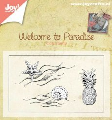 Joy!Crafts stempels 6410/0397 Welcome to Paradise