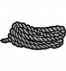 Marianne Design mallen CR1405 Nautical Rope