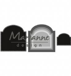 Marianne Design mallen CR1439 Basic Arch