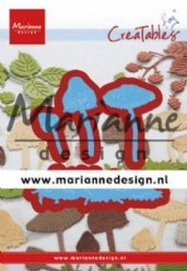 Marianne Design mallen LR0623 Mushrooms