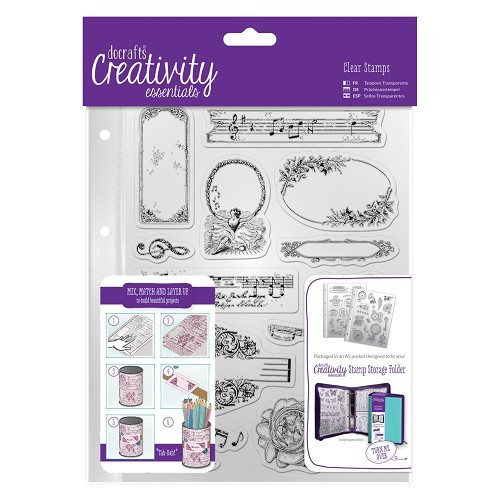 DoCrafts stempels 907112 Musicality