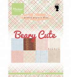 Pretty Papers Bloc PK9145 Papers Beary Cute