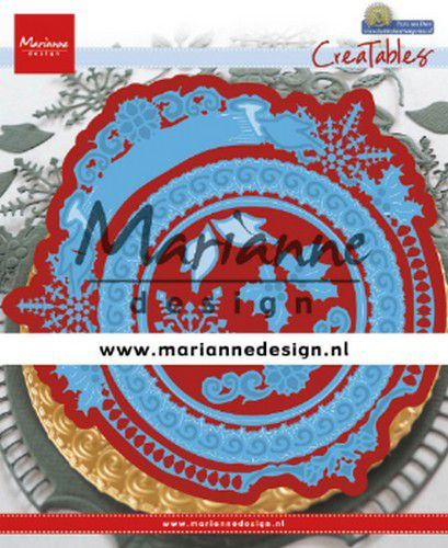 Marianne Design mallen LR0627 Petras Winter Circle