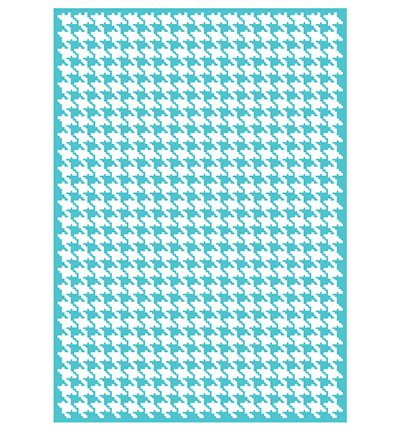 Embosfolder A4 10257 Houndstooth