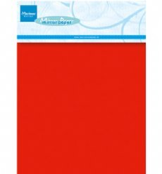 Marianne Design Paper CA3137 Red Mirror