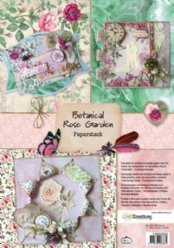 CraftEmotions Paperstack 0203 Rose Garden