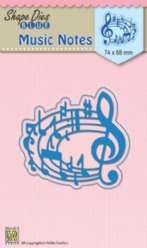 Nellies Choice mallen SDB017 Music Notes