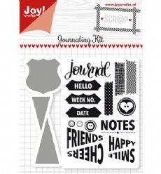 Joy!Crafts mallen en stempels 6004/0028 Journal Ki