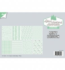 Joy!Crafts 6011/0579 Papierblok Mint Design