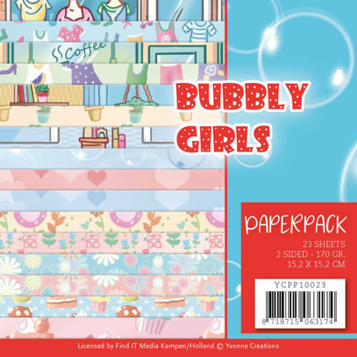 Bubbly Girls YCPP10023 PaperPack Bubbly Girls