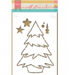 Marianne Design Stencil PS8046 Christmas Tree