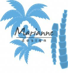 Marianne Design mallen LR0541 Palm Trees