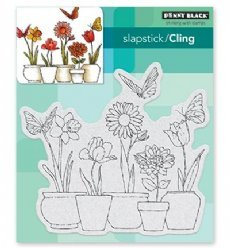 Penny Black stempels 40-518 Potted Flowers