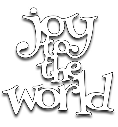 Penny Black mallen 51-263 Joy to the World