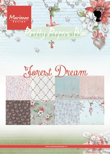 Pretty Papers Bloc PK9158 Forest Dreams