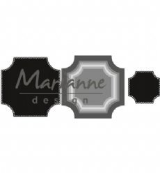 Marianne Design mallen CR1438 Basic Square