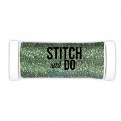 Stitch and Do SDCDS07 Sparkles Forest Green