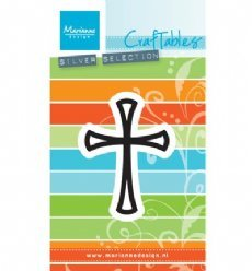 Marianne Design mallen CR1400 Graceful Cross