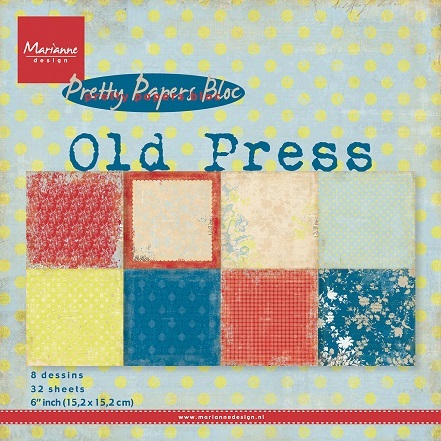 Pretty Papers Bloc PK9120 Old Press
