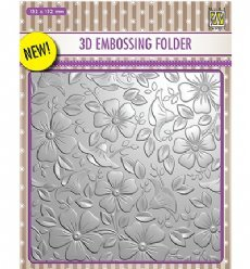 Nellies Choice Embosfolder EF3D003 Flowers 3