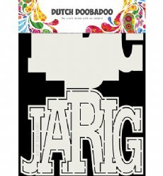 Dutch Doobadoo Card Art 3731 Jarig