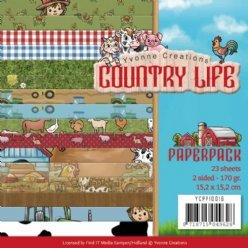 Yvonne CL Paperpack YCPP10016 Country Life