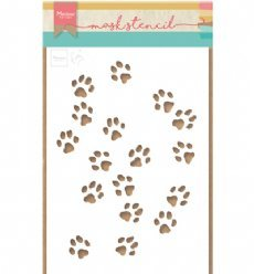 Marianne Design Stencil PS8029 Cat Paws