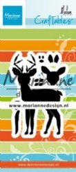 Marianne Design mallen CR1485 Deer by Marleen