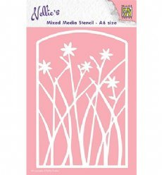 Nellies Choice MMSA6-002 Flowers Frame