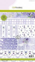 CraftEmotions Paper Bloc 0109 Romantic Provence