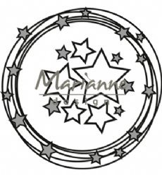 Marianne Design mallen CR1447 Circle Stars