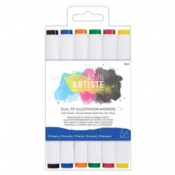 DoCrafts Markers 851402 Primary