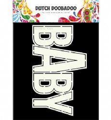 Dutch Doobadoo Card Art 3660 Baby