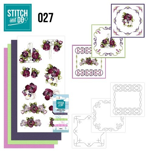 Stitch and Do set STDO027 Flowers