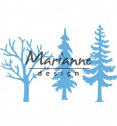 Marianne Design mallen LR0556 Forest Trees