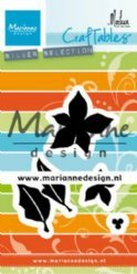 Marianne Design mallen CR1478 Poinsettia