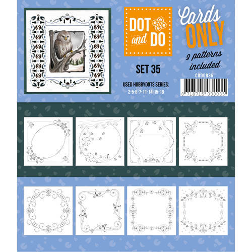 DOT and DO Cards CODO035 Cards Only