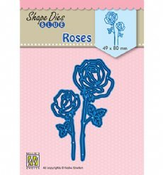Nellies Choice mallen SDB080 Roses
