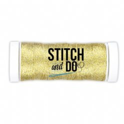 Stitch and Do SDCDS03 Sparkles Yellow Gold