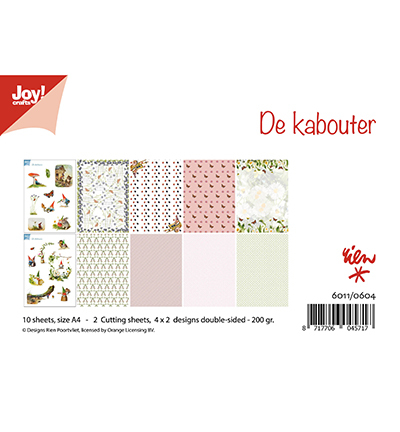 Joy!Crafts 6011/0604 Papierblok de Kabouter