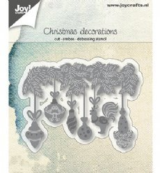 Joy!Crafts mallen 6002/1346 Kerstdecoratie