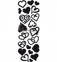 Marianne Design mallen CR1460 Punch Die Sweet Heart