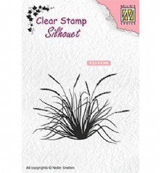 Nellies Choice stempels SIL057 Blooming Grass 2