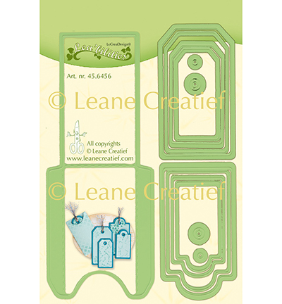 Leane Creatief mallen 45.6456 Pocket & Labels