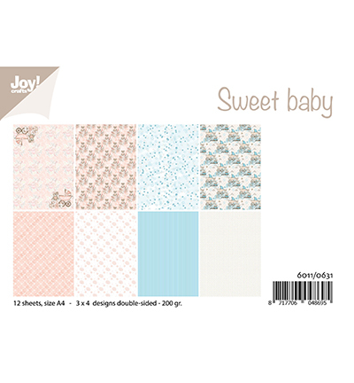 Joy!Crafts papierblok Design Sweet baby